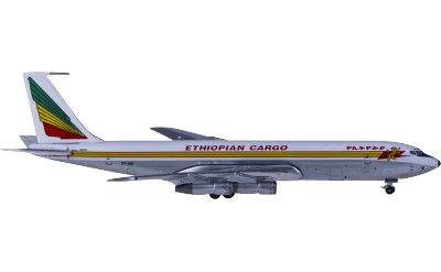 Ethiopian Airlines 埃塞俄比亚航空 Boeing 707-300 ET-AIV 货机