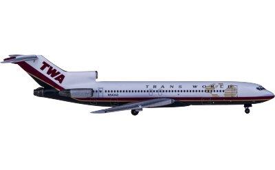 TWA 环球航空 Boeing 727-200 N54342