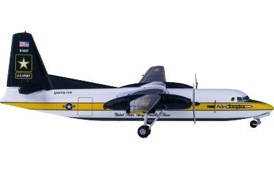 United States Army 美国陆军 Fokker F-27 51607