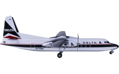 Delta Air Lines 达美航空 Fairchild F-227 N376NE