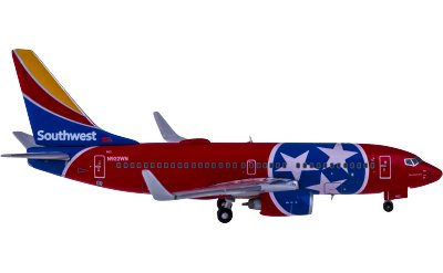 Geminijets 1:400 Southwest Airlines 美国西南航空 Boeing 737-700W N922WN 田纳西一号