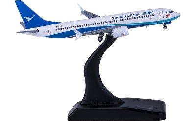 JC Wings 1:400 XiamenAir 厦门航空 Boeing 737 MAX 8 B-1136 2000TH