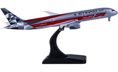 Etihad Airways 阿提哈德航空 Boeing 787-9 Dreamliner A6-BLV F1彩绘