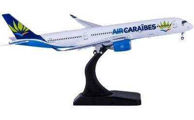 Air Caraibes 加勒比海航空 Airbus A350-900 F-HHAV 襟翼打开