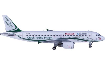 Safran Airbus A320 F-HGNT Green Taxing System