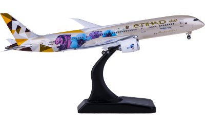 Phoenix 1:400 Etihad Airways 阿提哈德航空 Boeing 787-9 A6-BLR 新加坡彩绘