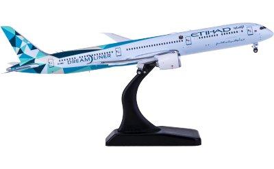 Phoenix 1:400 Etihad Airways 阿提哈德航空 Boeing 787-10 A6-BMH Greenliner彩绘
