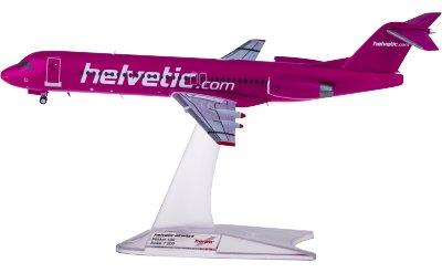 Helvetic Airways 海尔维航空 Fokker 100 HB-JVC