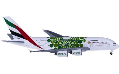 Emirates 阿联酋航空 Airbus A380 A6-EOW 世博彩绘