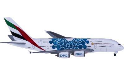 Emirates 阿联酋航空 Airbus A380 A6-EOC 世博彩绘