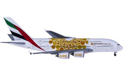 Emirates 阿联酋航空 Airbus A380 A6-EEY 世博彩绘