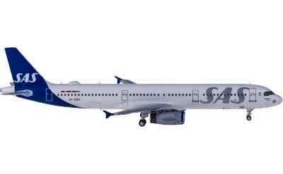 Ngmodel 1:400 SAS 北欧航空 Airbus A321 OY-KBH