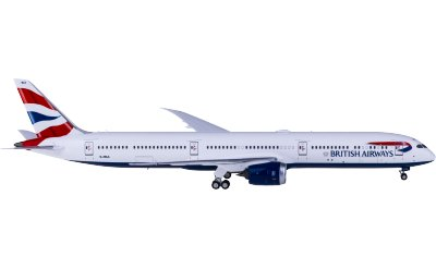 Ngmodel 1:400 British Airways 英国航空 Boeing 787-10 G-ZBLA