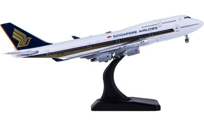 Singapore Airlines 新加坡航空 Boeing 747-400 9V-SMS