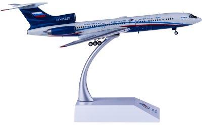 JC Wings 1:200 Russian Air Force 俄罗斯空军 Tupolev Tu-154M RF-85655