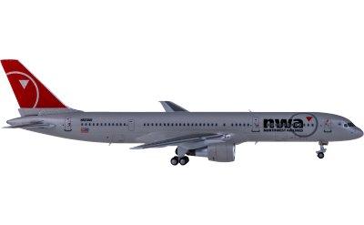 Ngmodel 1:400 Northwest Airlines 西北航空 Boeing 757-200 N523US