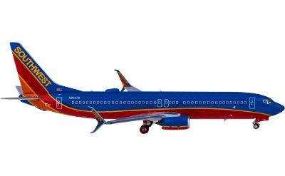 Southwest Airlines 美国西南航空 Boeing 737-800 N8627B