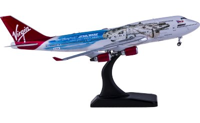 Phoenix 1:400 Virgin Atlantic 维珍航空 Boeing 747-400 G-VLIP