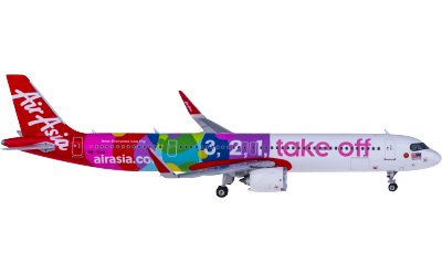 Phoenix 1:400 AirAsia 亚洲航空 Airbus A321neo 9M-VAA 	3,2,1 take-off
