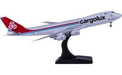 Phoenix 1:400 Cargolux 卢森堡货运航空 Boeing 747-8F LX-VCN 货机 50周年