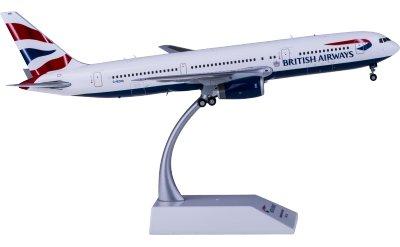 JC Wings 1:200 British Airways 英国航空 Boeing 767-300ER G-BZHA