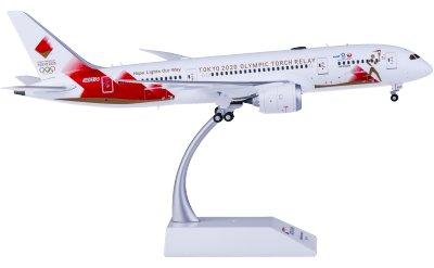 Japan Airlines 日本航空 Boeing 787-8 Dreamliner JA837J Torch Relay