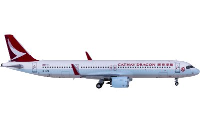 HYJLwings 1:400 Cathay Dragon 国泰港龙航空 Airbus A321neo B-HPB