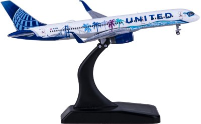 Geminijets 1:400 United Airlines 美国联合航空 Boeing 757-200 N14106 Her Art Here