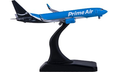 JC Wings 1:400 Amazon Prime Air Boeing 737-800 N5113A 货机
