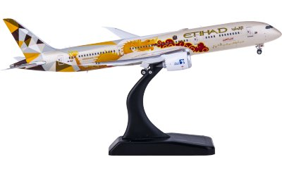 Phoenix 1:400 Etihad Airways 阿提哈德航空 Boeing 787-9 A6-BLF 中国龙彩绘