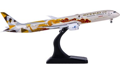 Phoenix 1:400 Etihad Airways 阿提哈德航空 Boeing 787-10 A6-BMD 中国龙彩绘