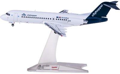 KLM 荷兰皇家航空 Fokker 70 PH-KZE