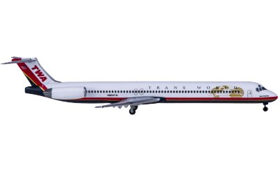 TWA 环球航空 McDonnell Douglas MD-83 N984TW