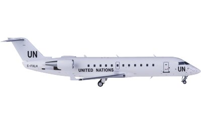 the United Nations 联合国 Bombardier CRJ200LR C-FXLH
