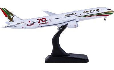 Gulf Air 海湾航空 Boeing 787-9 A9C-FG 70周年