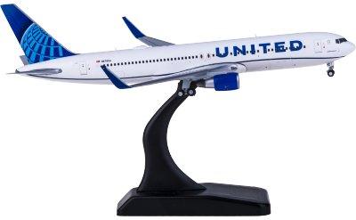 Geminijets 1:400 United Airlines 美国联合航空 Boeing 767-300ER N676UA