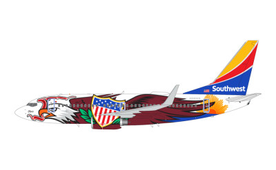 Southwest Airlines 美国西南航空 Boeing 737-700 N918WN 伊利诺伊一号