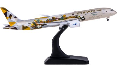 Phoenix 1:400 Etihad Airways 阿提哈德航空 Boeing 787-9 A6-BLH 意大利彩绘