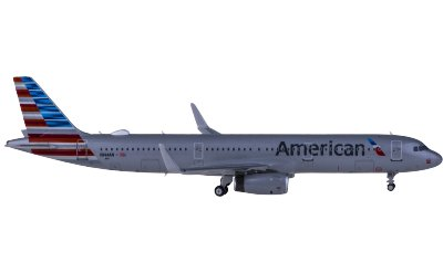 Ngmodel 1:400 American Airlines 美国航空 Airbus A321 N144AN