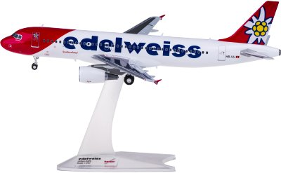 Edelweiss Air 雪绒花航空 Airbus A320 HB-IJU