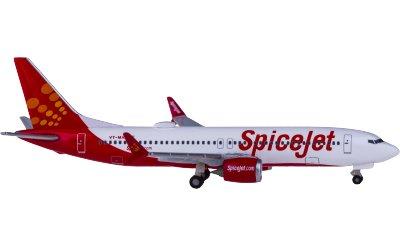 SpiceJet 香料航空 Boeing 737 MAX 8 VT-MAX King Chilli