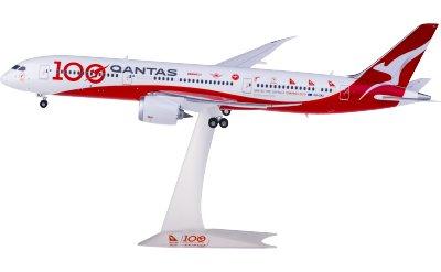 Qantas 澳洲航空 Boeing 787-9 Dreamliner VH-ZNJ 100周年彩绘