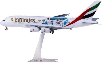 Emirates 阿联酋航空 Airbus A380 A6-EUG 皇家马德里足球俱乐部