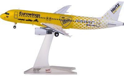Eurowings 欧洲之翼航空 Airbus A320 D-ABDU 赫兹租车100年