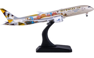 Phoenix 1:400 Etihad Airways 阿提哈德航空 Boeing 787-9 A6-BLJ 泰国彩绘