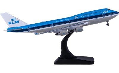 Phoenix 1:400 KLM 荷兰皇家航空 Boeing 747-400 PH-BFE 仙鹤彩绘