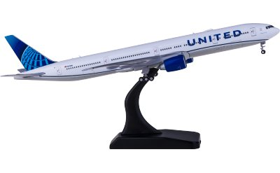 Geminijets 1:400 United Airlines 美国联合航空 Boeing 777-300ER N2749U