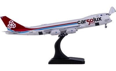 JC Wings 1:400 Cargolux 卢森堡货运航空 Boeing 747-8F LX-VCC 50周年 开鼻货机