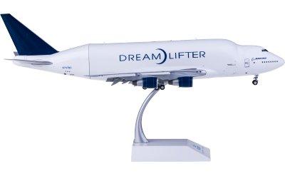 Boeing 747-400LCF N747BC 襟翼打开