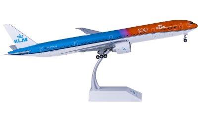JC Wings 1:200 KLM 荷兰皇家航空 Boeing 777-300ER PH-BVA 100周年 橙色的骄傲